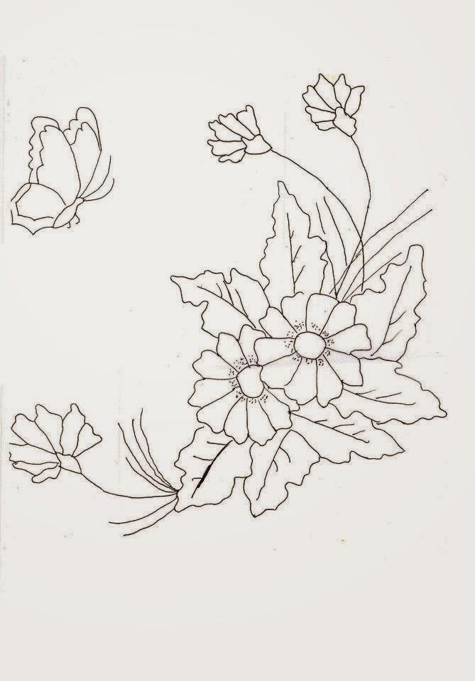Desenhos De Ramos De Flores Imagui