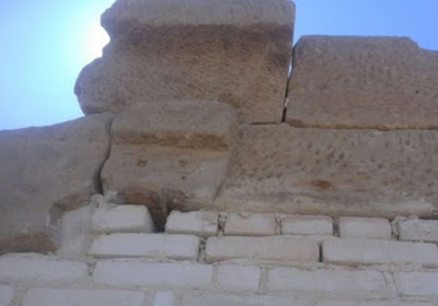 Block bearing Star of David removed from Aswan Temple