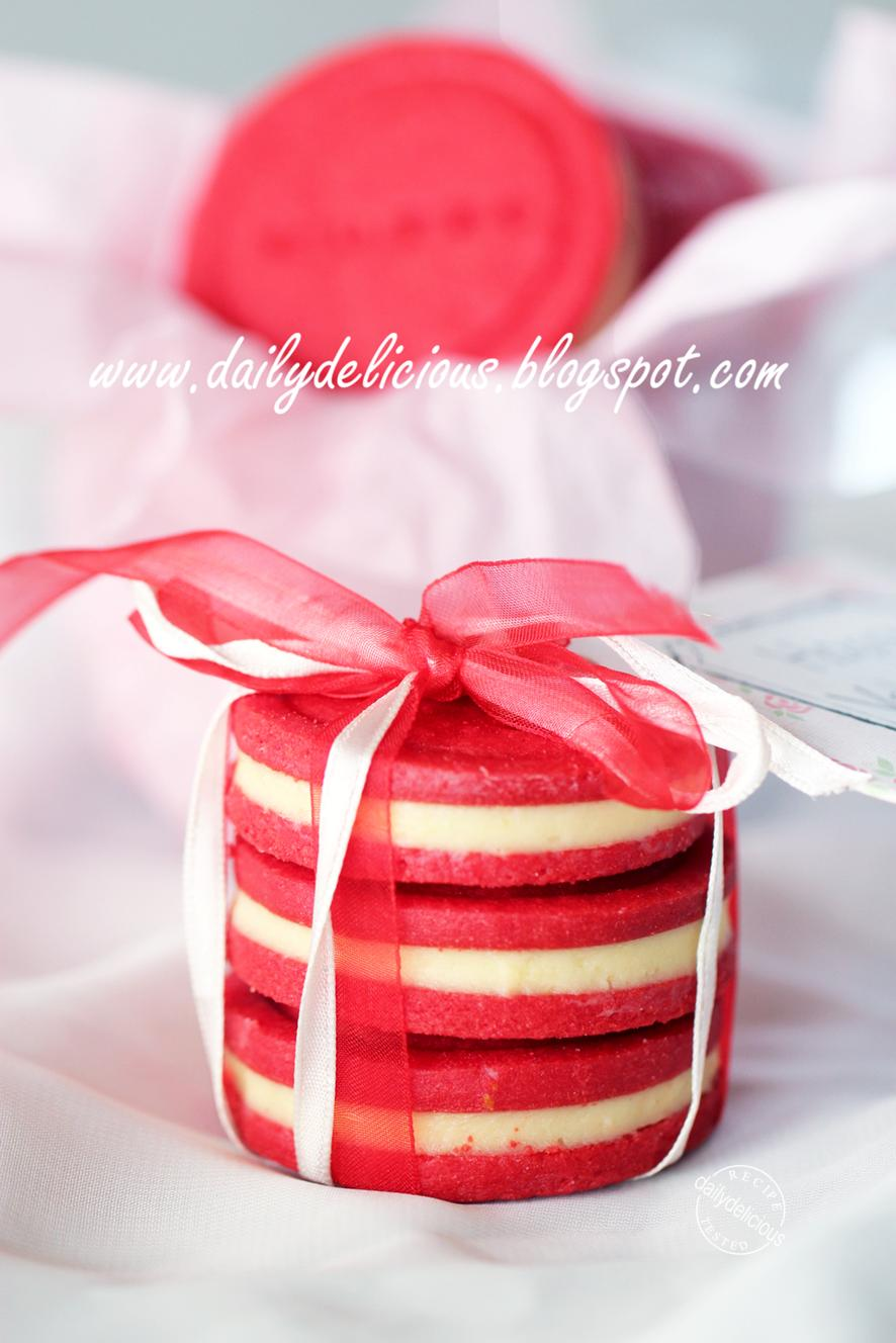 Red Icing Egg Cake