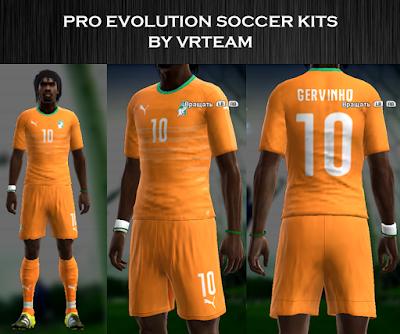 Cote D'Ivoire 2016 kit by vladroman