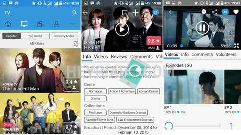 Cara Nonton Drama Korea di Android