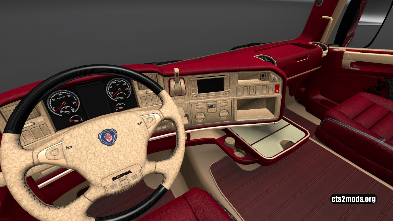 OFR Interior for Scania RJL v 3