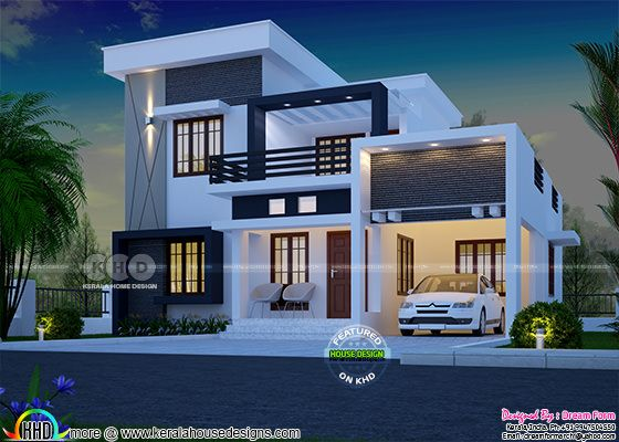 4 bedroom 1750 sq ft modern home design