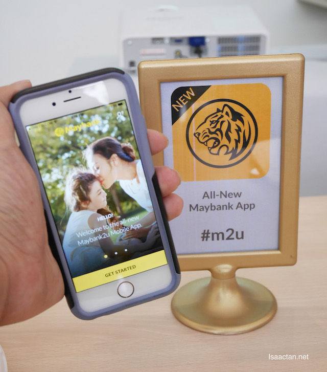 Wait no more and be one of the first to experience the all-new Maybank2u app now