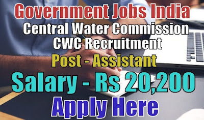 Central Water Commission CWC Recruitment 2017