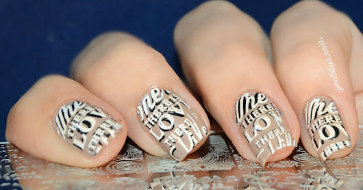 Stamping Plate Born Pretty Celebration BPX-L014 (item id: 38220) от магазина http://www.bornprettystore.com