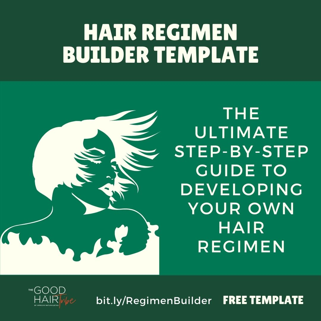 Free Hair Regimen Template Builder