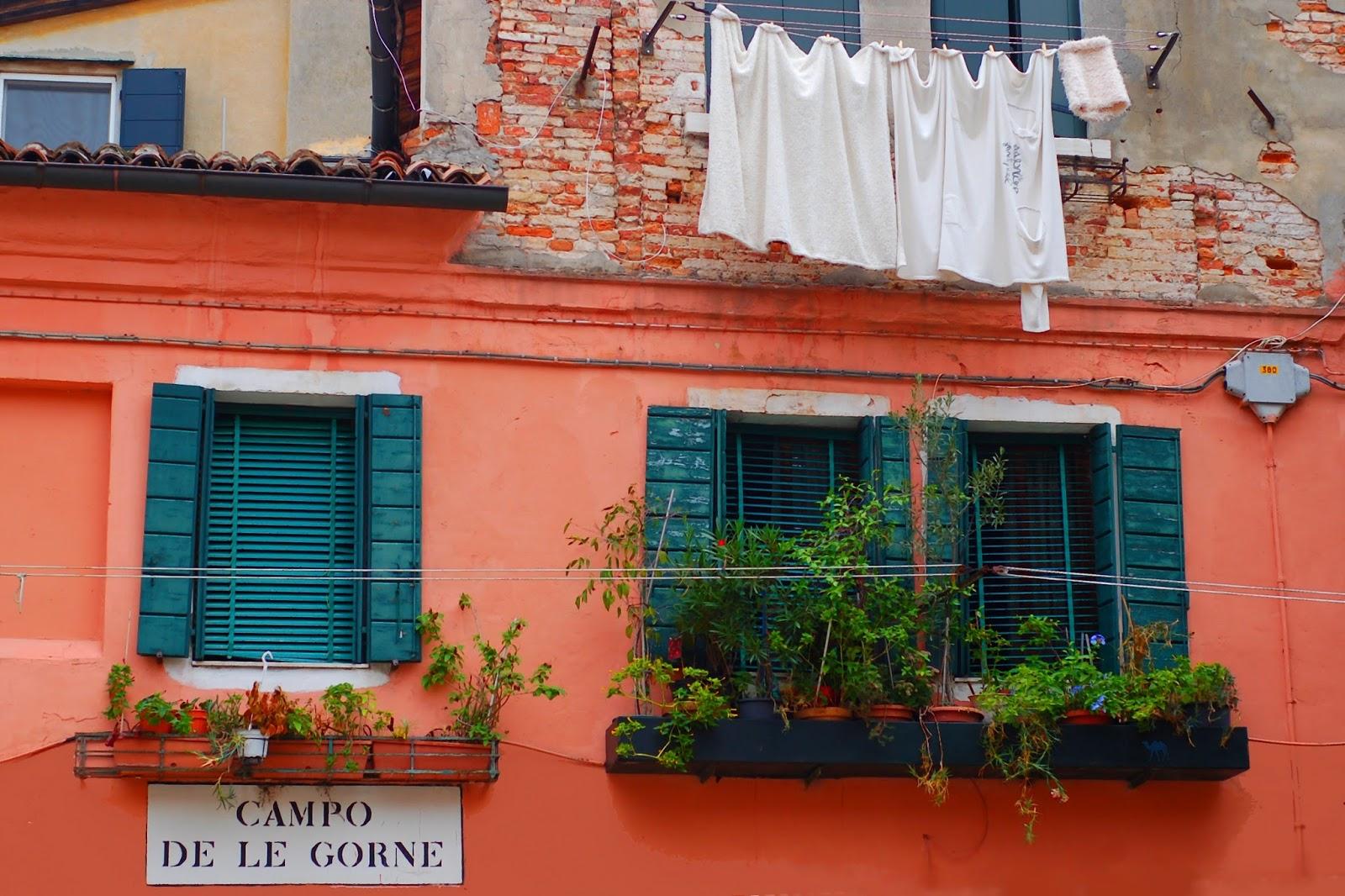 Le Chameau Bleu - Venise les draps de la Gorne - Italie