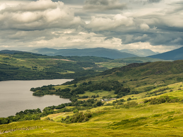 Photo of another view of Loch Awe from our walk