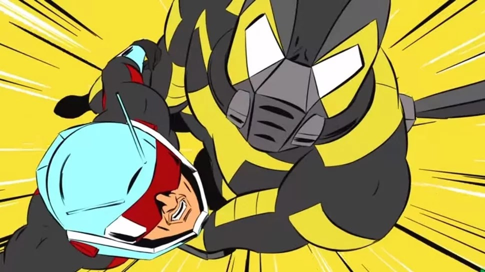 Disney XD ANT-Man Animated Film Gets New Promo Video.