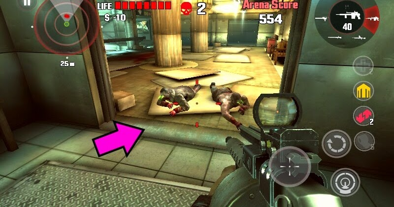 dead trigger  battle stage cheats cheatersface