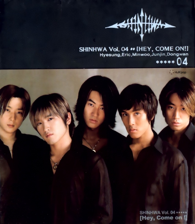SHINHWA – Vol.4 Hey Come On (ITUNES MATCH AAC M4A)