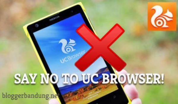 Lawan UC Browser! Pasang Kode Script Anti UC Browser di Blogger dan WP