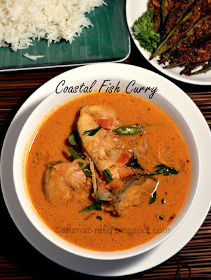 Classic fish curry ~ South Indian Style Fish Curry