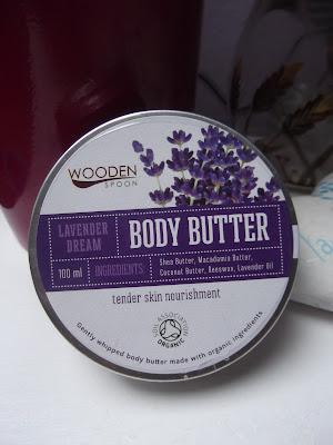 Telové maslo  Levanduľový sen od Woodenspoon