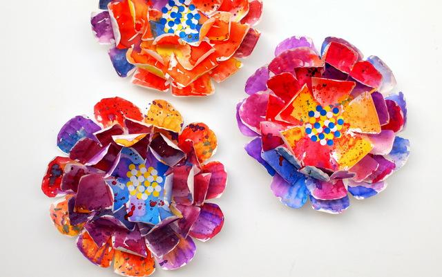 painter-paper-plate-flower-crafts-for-kids-summer