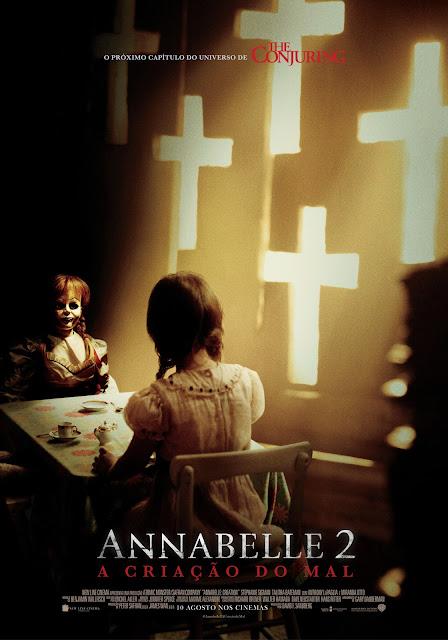 """Passatempo """"Annabelle 2: A Criação do Mal"""" - Convites para as antestreias"""