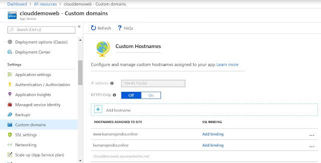 Custom Hostnames added