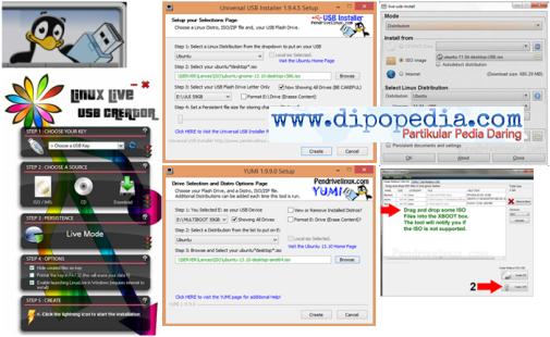 Ilustrasi Tips Memberdayakan Sistem Operasi Komputer Pada USB Flash Disk - Dipopedia