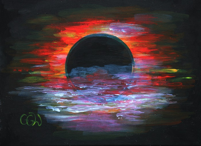 obraz na plotnie farbami akrylowymi