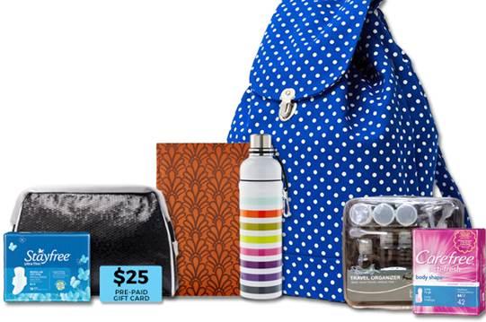 Weekend Getaway Giveaway with Stayfree & Carefree!