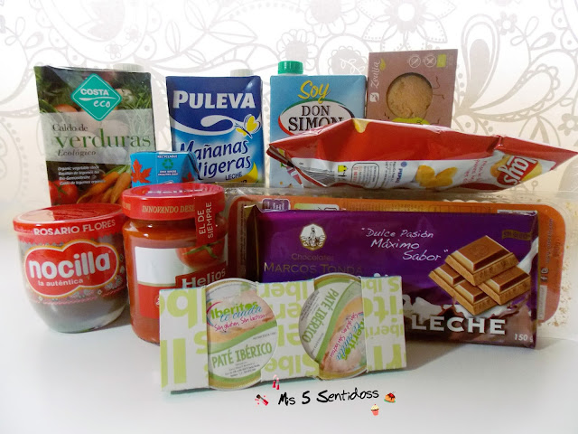 Qué Box, caja de alimentación sin gluten ni lactosa