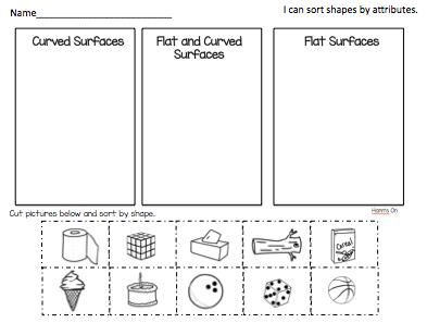 flat surfaces worksheets for kindergarten flat best free printable worksheets. Black Bedroom Furniture Sets. Home Design Ideas