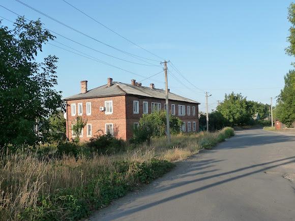 Авдеевка. Улица Первомайская