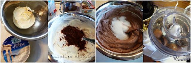 Spirellis Allerlei - Herstellung Toffifee Schoko Dessert