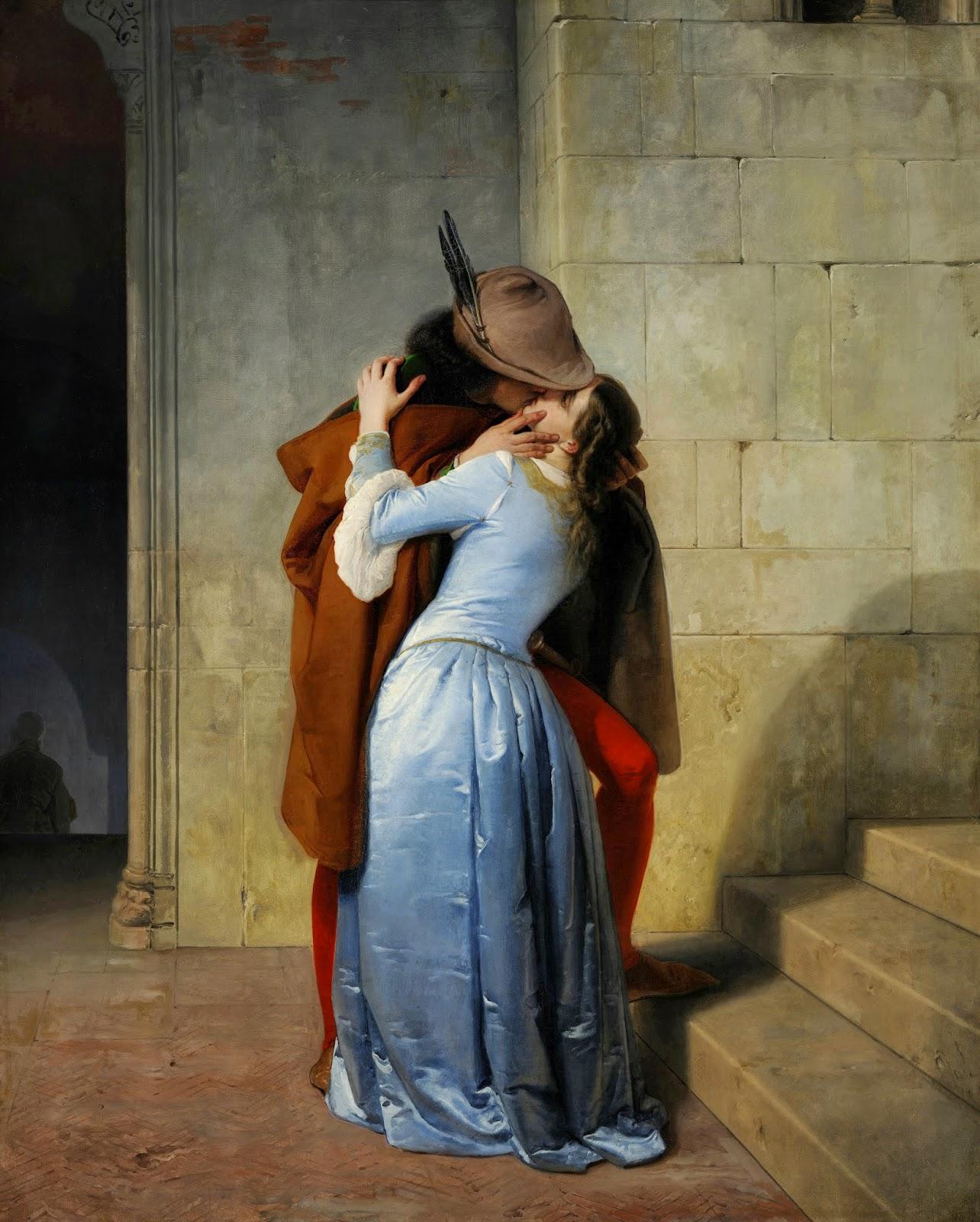 Quadro di Francesco Hayez, Miraggio di pellegrino
