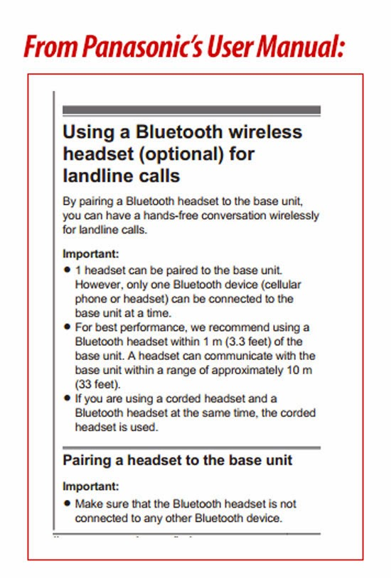 SmithGear News: Using a Bluetooth Headset with a Landline Phone