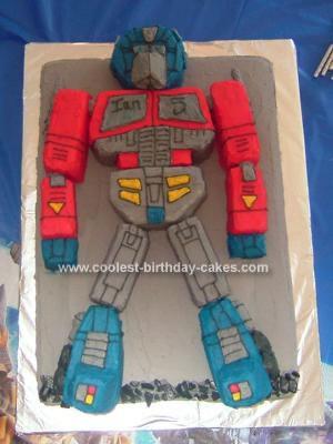 Coolest Optimus Prime Birthday Cakes