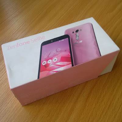 Asus zenfone selfie box