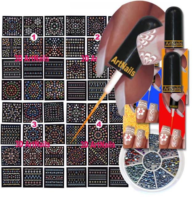 Nail Polish Art Kit Pccala