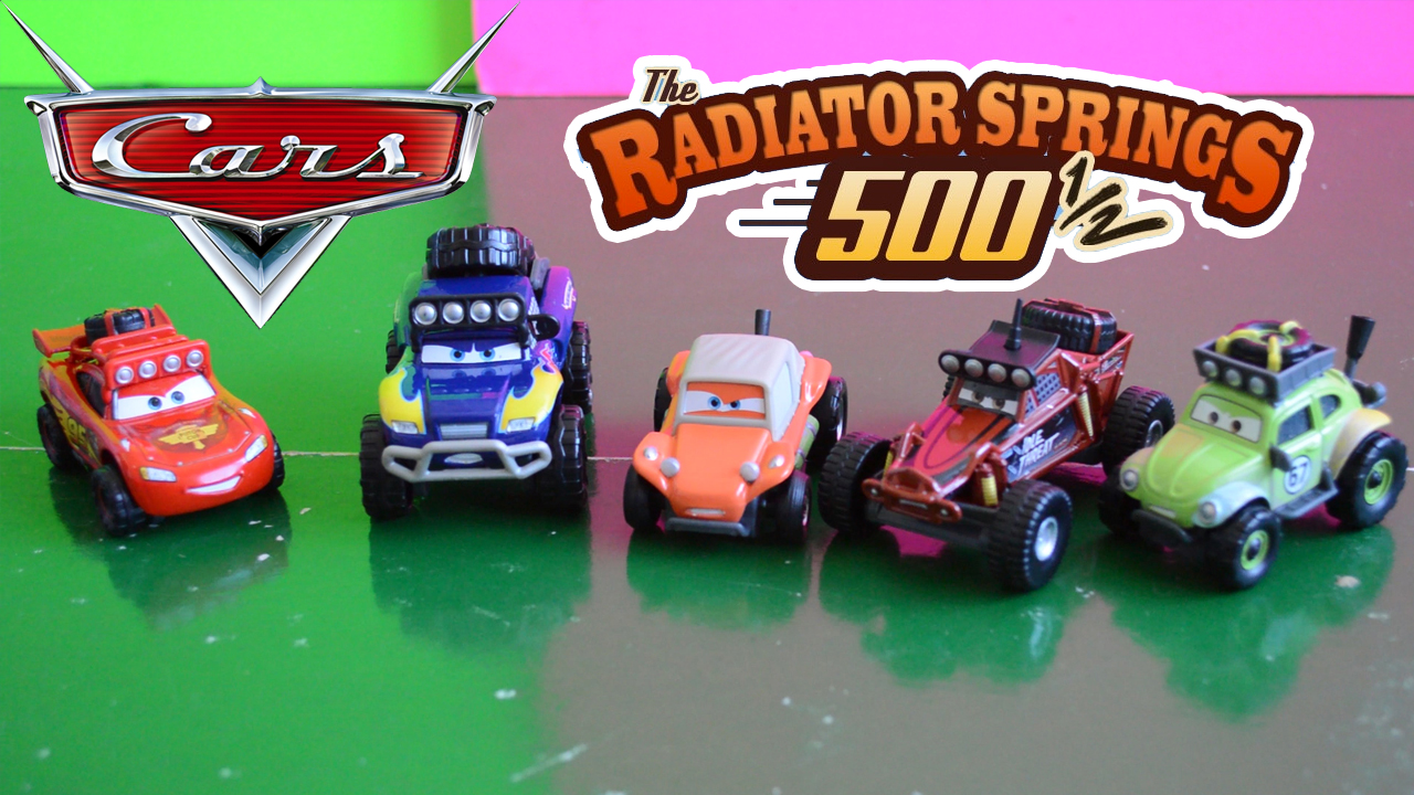 Off Road Lightning Mcqueen Dudes In Toyland Radiator Springs 500 1 2 Toys