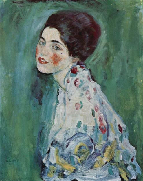 'Portrait of a Lady' by Gustav Klimt