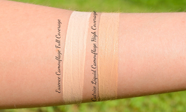 Essence Camouflage Full Coverage Concealer (Comparison to Catrice Liquid Camouflage High Coverage Concealer) Swatches