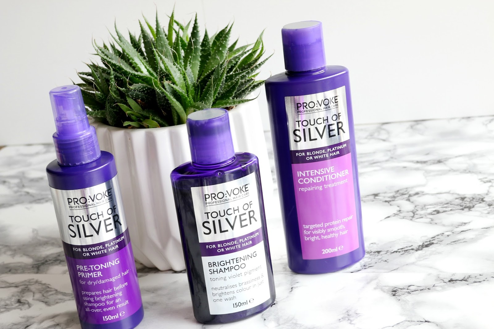 PRO:VOKE Touch Of Silver Shampoo and Conditioner Review