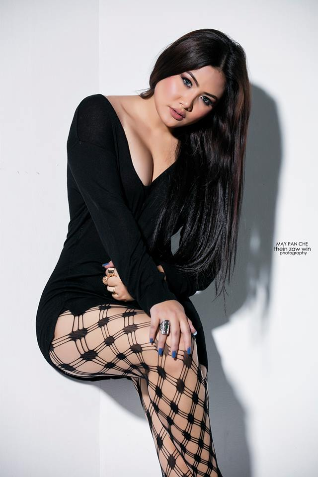May Pache New Model Shows Off Black Fashion In Studio Photoshoot