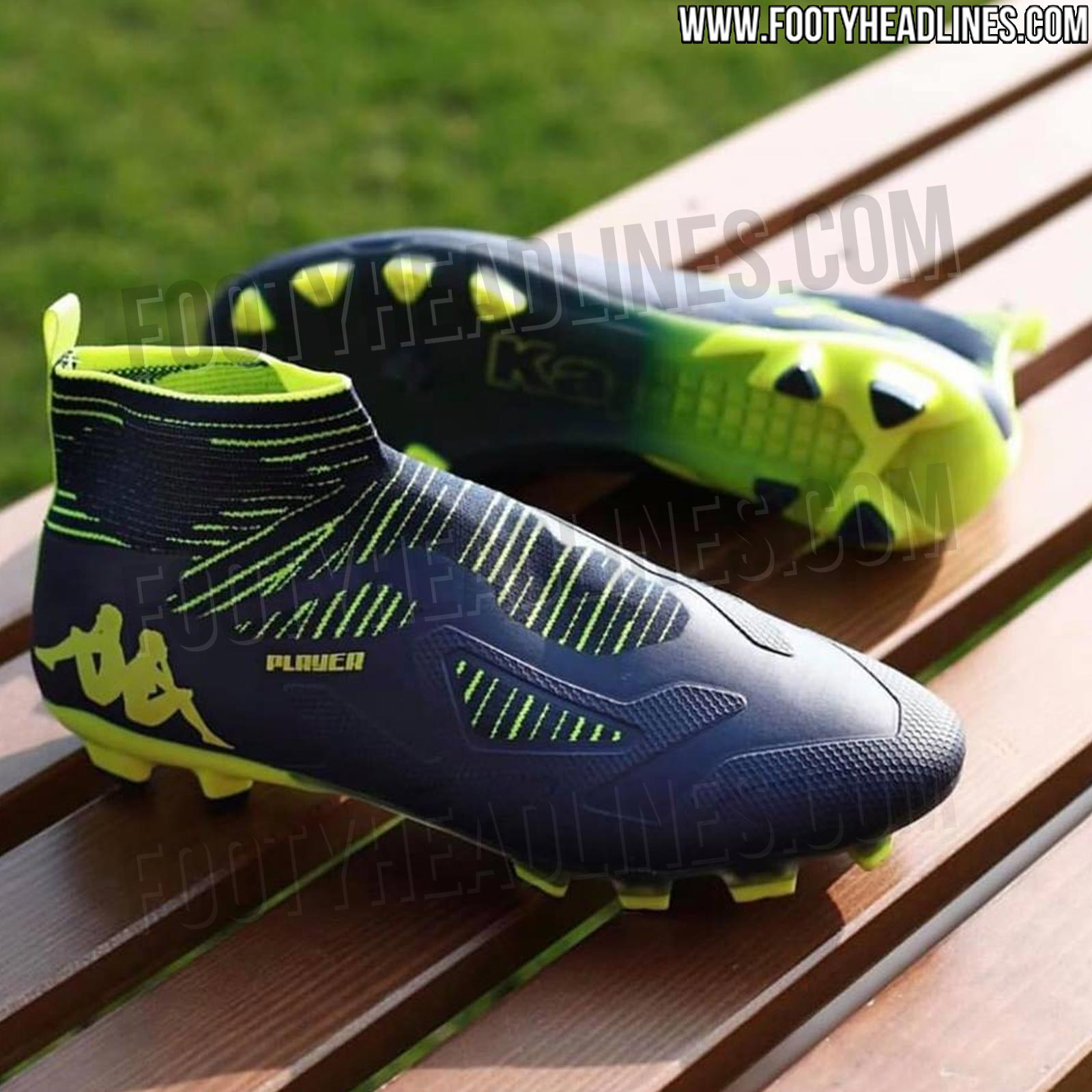 85b415280ebba First-Ever Kappa High-Cut Laceless Football Boots Leaked - Footy ...