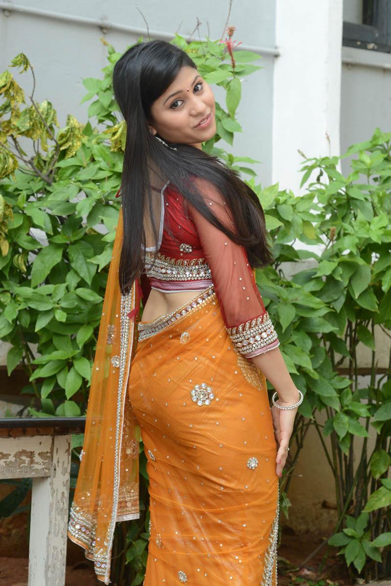 Jiya Khan Hot Stills In Saree