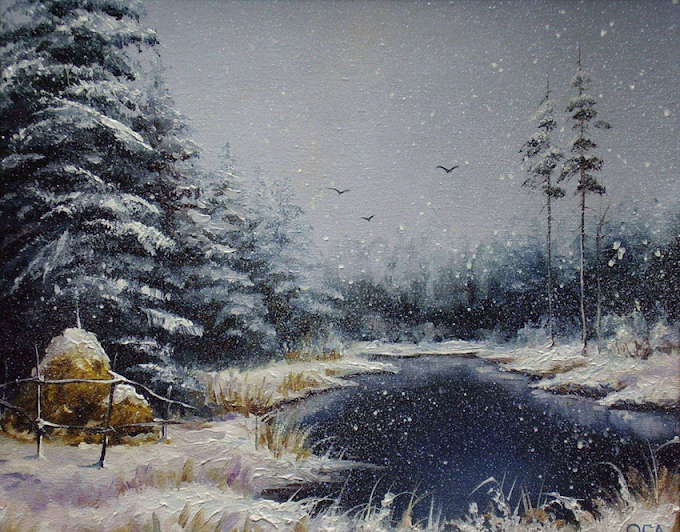 Criação do artista contemporâneo Oleg Samburova