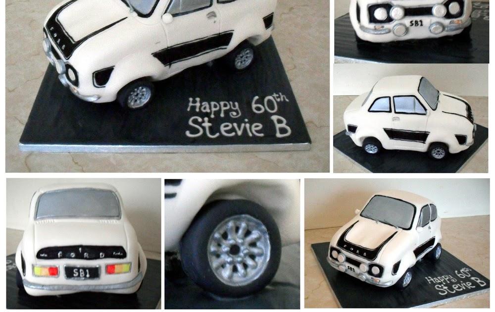 How To Make A Rally Car Cake