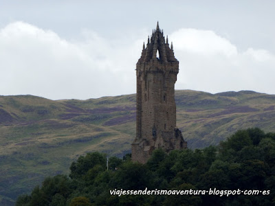 Monumento a William Wallace Stirling Escocia