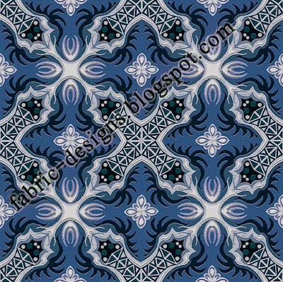 textile geometric design