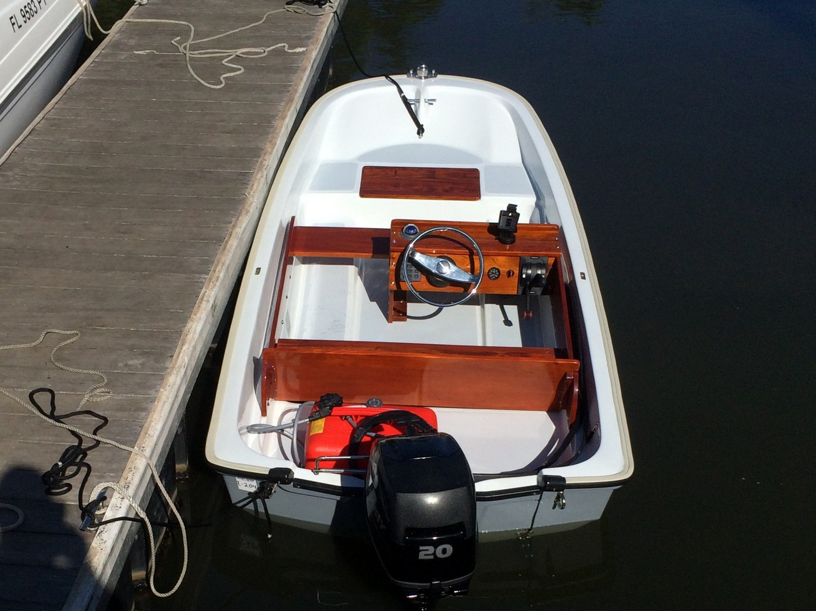 medium resolution of despite its factory new appearance this boat is not i don t know it s exact age but it s a well restored super sport model built from 1984 to 1994