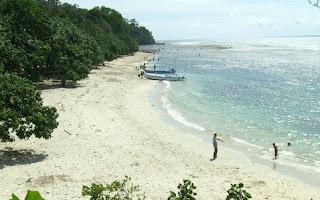 Pantai Singkil Karang Pakis Pasir Putih di Cilacap