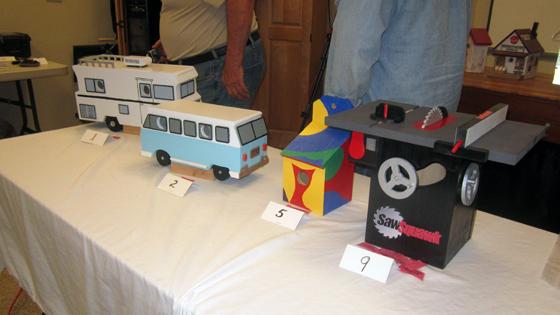 Gwinnett Woodworkers Birdhouse Contest