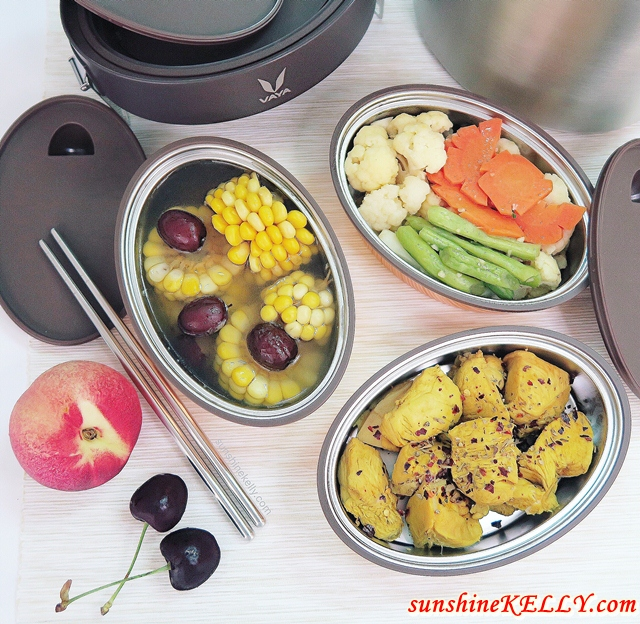Healthy Meals with VAYA Tyffyn Vacuum Insulated Lunchbox