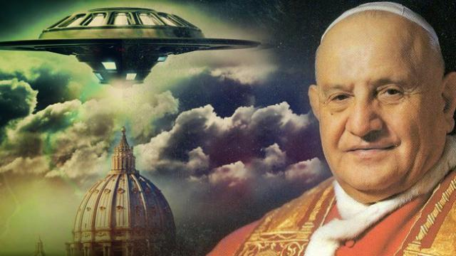 Pope John XXIII Met An Alien Before His Death In 1961
